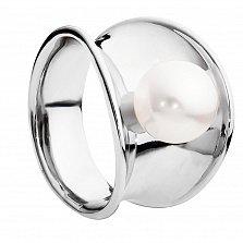 Кольцо из серебра с жемчугом Афродита