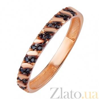 Кольцо из красного золота Мадлен с фианитами SVA--1731471/Фианит/Цирконий