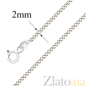 Серебряная цепочка Эрла, 2мм 10050019