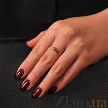 Кольцо из белого золота с бриллиантом Атланта EDM-КД7477/1