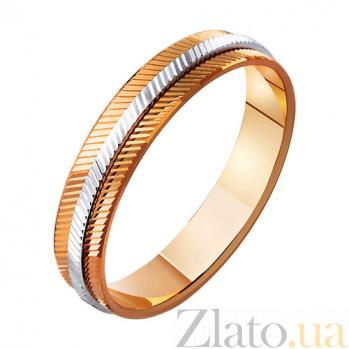 Золотое обручальное кольцо из золота Чистое сияние TRF--441419