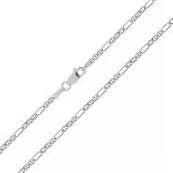 Серебряная цепочка с родированием 000027426