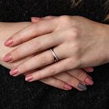 Золотое кольцо Виталина с фианитами