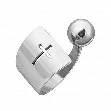 Серебряное кольцо Coil