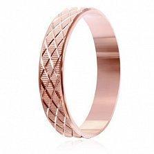 Позолоченное кольцо из серебра Делирис