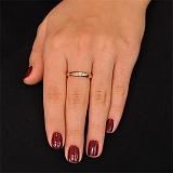 Золотое кольцо с бриллиантом Подарок невесте