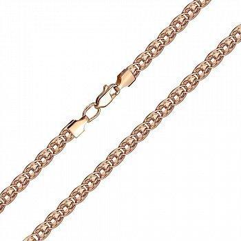 Золотой браслет в красном цвете 000103611