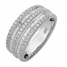 Кольцо из белого золота с бриллиантами Орланда