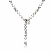 Ожерелье из серого жемчуга Фея