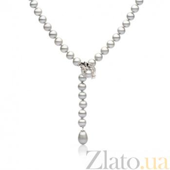 Ожерелье из серого жемчуга Фея SG--33