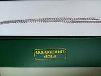 Серебряная цепочка в плетении лав, 2 мм 000118233
