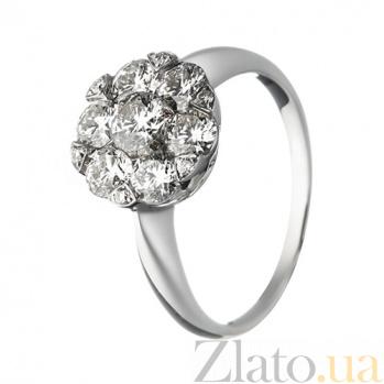 Золотое кольцо с бриллиантами Валентина 1К193-0236