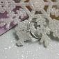 Кольцо из белого золота с бриллиантом Сердце R 0692/бел