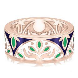Обручальное кольцо из розового золота Талисман: Веры 000009220
