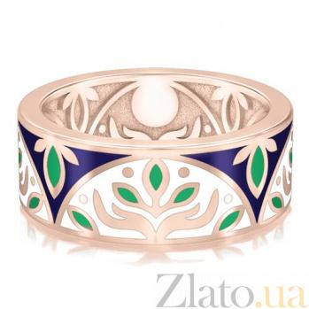 Обручальное кольцо из розового золота Талисман: Веры 2917