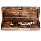 Подарочный серебряный нож Наполеон