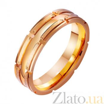 Золотое обручальное кольцо Обещание TRF--4111247