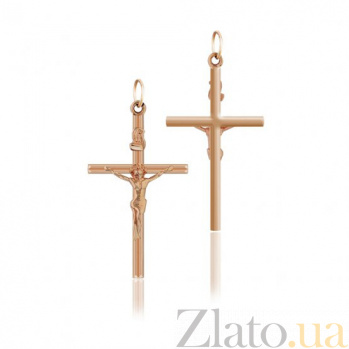 Золотой крестик Апостол EDM--КР020