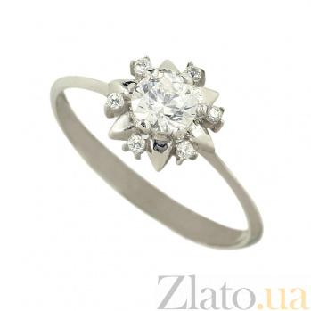 Золотое кольцо с фианитами Аглая 2К108-0016