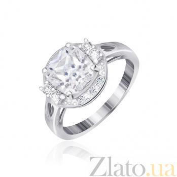 Серебряное кольцо с фианитами Карлая 000025517