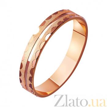 Золотое обручальное кольцо Любовная история TRF--411046