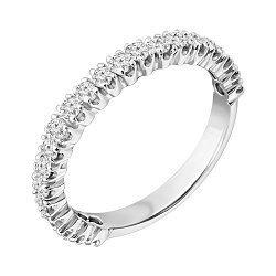 Серебряное кольцо с лейкосапфирами 000040333