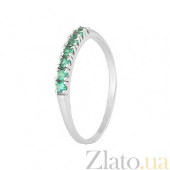 Серебряное кольцо с фианитами Хельга 000028315