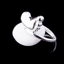 Серебряное кольцо Следок