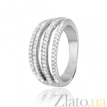 Серебряное кольцо с фианитами City lights 000028068