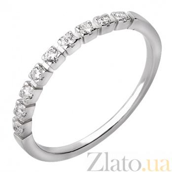 Золотое кольцо с бриллиантами Даниэла R0608/бел/бр
