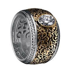 Золотой гарнитур с бриллиантами Люсинда 000017747