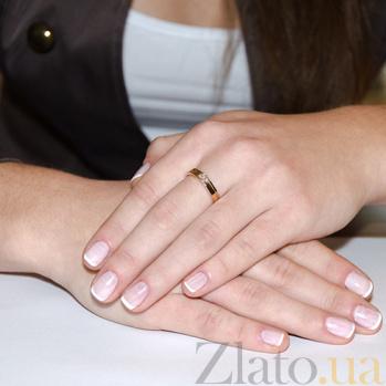 Золотое кольцо с бриллиантами Сияние счастья R 0811/крас