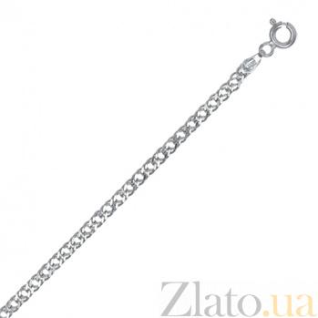 Серебряная цепь Блюз, 2,5 мм, 60 см 000027680