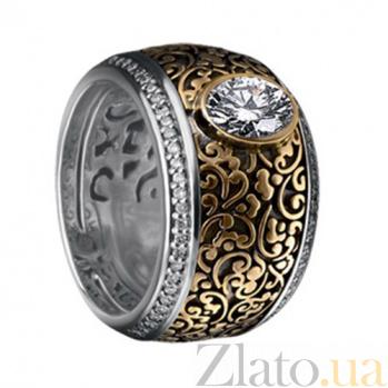 Золотой гарнитур с бриллиантами Люсинда KBL--Г0068/комб/брил