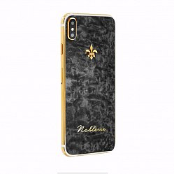 Apple IPhone XS Noblesse BLACK WOOD в лакированном дереве и золоте