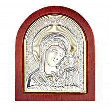 Икона позолоченная Казанской Богоматери