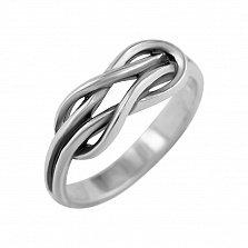 Серебряное кольцо Прочная связь