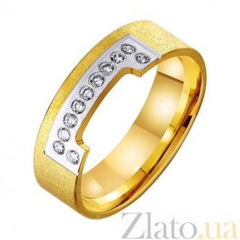 Золотое обручальное кольцо Триумфальная арка TRF--432425