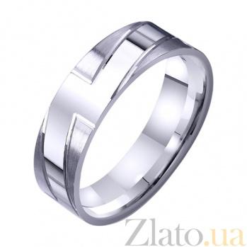 Золотое обручальное кольцо Власть любви TRF--421396