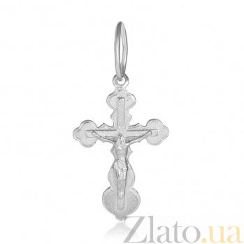 Крестик из серебра Силы Небесные 000025371