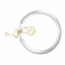 Кольцо из комбинированного золота Секрет любви