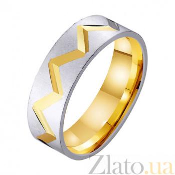 Золотое обручальное кольцо Биение сердца TRF--431508