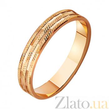 Золотое обручальное кольцо Нектар любви TRF--411016
