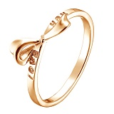 Кольцо в краснм золоте Презент