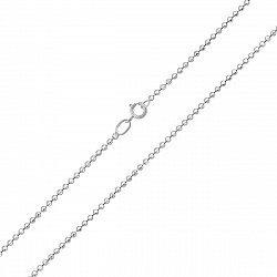 Серебряная цепочка Олеся из шариков, 1,5 мм
