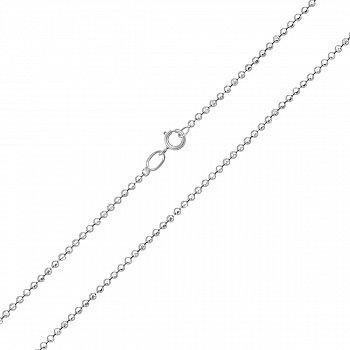 Серебряная цепочка из шариков, 1,5 мм 000118279
