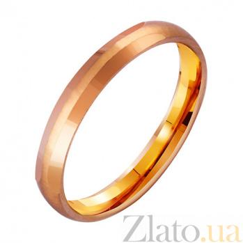 Золотое обручальное кольцо Elegant TRF--4111119