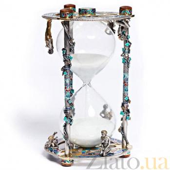 Серебряные песочные часы Амазония 1048/к