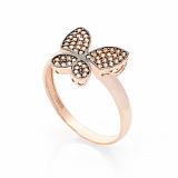 Купить Золотое кольцо Бабочка 000005202 в интернет магазине Злато 643cdde0509c1