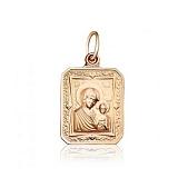 Золотая ладанка Матерь Божья с Иисусом